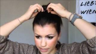 Der Dutt für kurzes Haar (Tutorial)