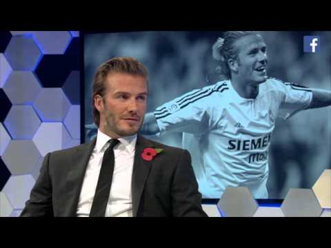 Jake Humphrey & David Beckham: Facebook Live highlights