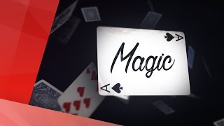 Magic Card Trick Intro in After Effects