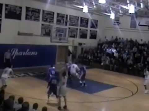 DeSales Basketball   Brian Kerwin   High School Highlights