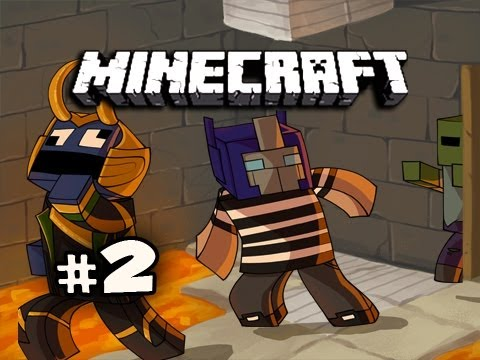 LAVA PARKOUR - Minecraft: Kingdom of the Monsters w/Nova & Immortal Ep.2