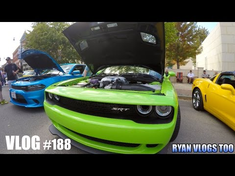 Route 66 Mother Road Festival & Car Show 2015! - Springfield, IL (Vlog #188) 4K