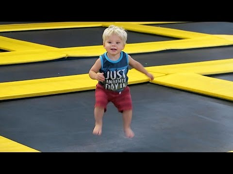 CRAZY JUMPING TODDLER!!