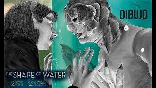 Dibujo La forma del Agua I Shape Of Water I Small DraWing