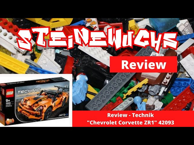 Review - Lego Technik Chevrolet Corvette ZR1 42093