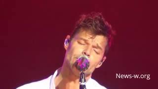 Ricky Martin - Disparo al corazón - live Moscow, VTB Ledovy Dvorets 20.09.2016