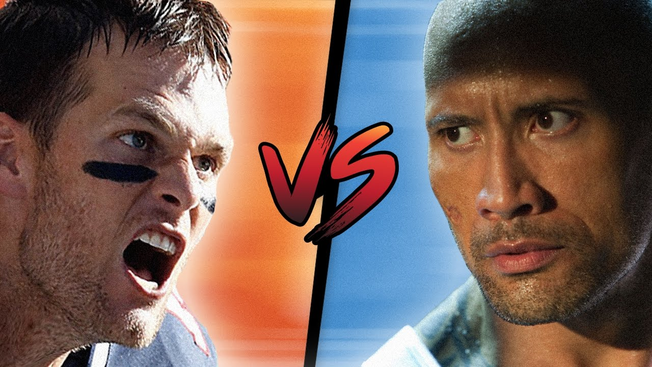 a16090ae25 The Rock roasts Tom Brady's acting skills: 'Leave the acting to me'   For  The Win