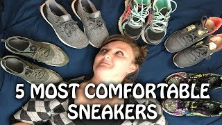 5 Most Comfortable Sneakers