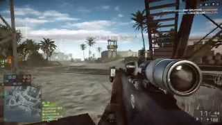 Battlefield 4 Obliberation Paracal Storm sniper gameplay (PS4) [720p]