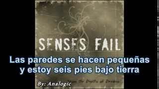 Senses Fail - Free Fall Without A Parachute(Sub español)