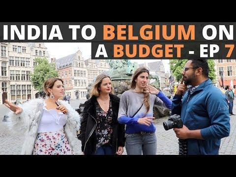Exploring Antwerp - YUST Hostel, Locals, Shopping & Indian Food- Traveling Desi's Belgium - EP 7