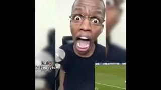 فيديو رائع تقليد روؤف خليف فى مباراة ليفربول وروما