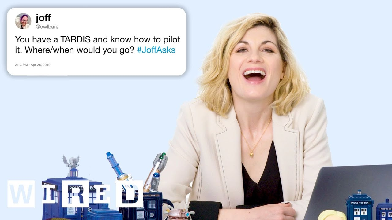 Jodie Whittaker Answers Doctor Who Questions From Twitter | Tech Support
