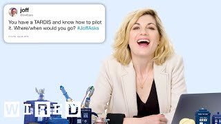Jodie Whittaker Answers Doctor Who Questions From Twitter | Tech Support | WIRED