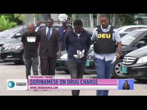 SURINAMESE MEN CHARGED WITH DRUG POSSESSION