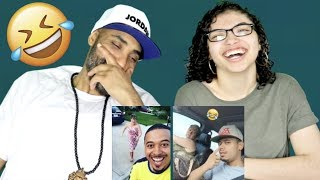 MY DAD REACTS TO TRY NOT TO LAUGH - FUNNY Mightyduck Vines Compilation (Impossible!) REACTION