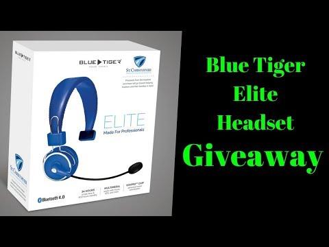 Announcing the Winner  Blue Tiger Elite  Headset Q&A
