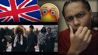 AMERICAN FIRST REACTION TO UK RAP DRILL/GRIME (PART 10) ft. CGM, S1, B SIDE, Aitch & MORE!