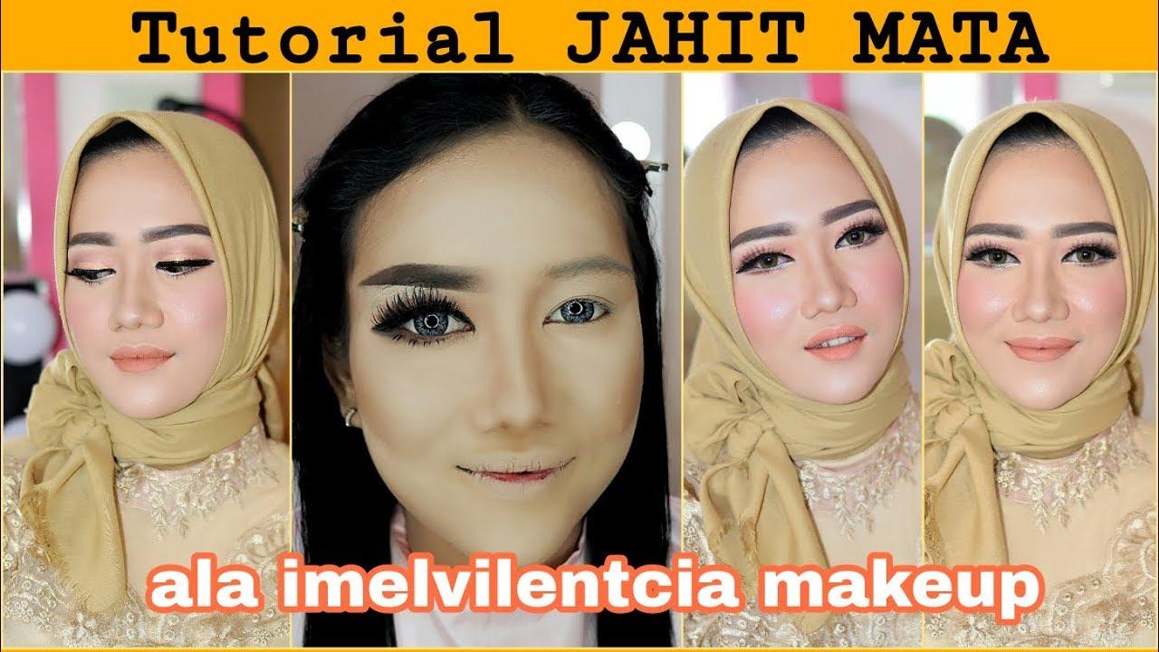 Tutorial Jahit Mata Ala Imelvilentcia By Rindynellakrisna Youtube