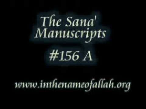 The Sana' Manuscripts Part 156 a