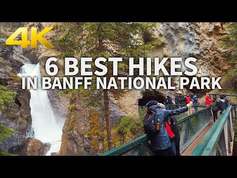 BANFF NATIONAL PARK - 6 Best Hikes in Banff National Park, Alberta, CANADA, Travel, 4K UHD