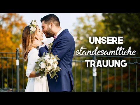 We Said YES! Unsere STANDESAMTLICHE TRAUUNG ♥️ | Hanna Ellen