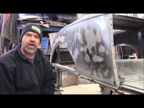 1928 Ford Model A Roadster Restoration Update, Metal Work On Body Continues,  Lastchanceautorestore