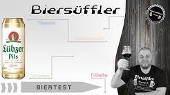 Biertest - Lübzer Pils (Dose)