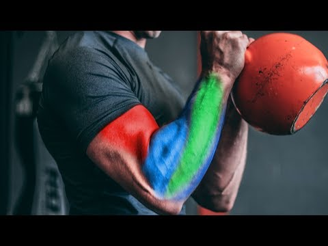 Arm Growth Plateau? KETTLEBELL HAMMER CURLS for BIGGER BICEPS & FOREARMS!!