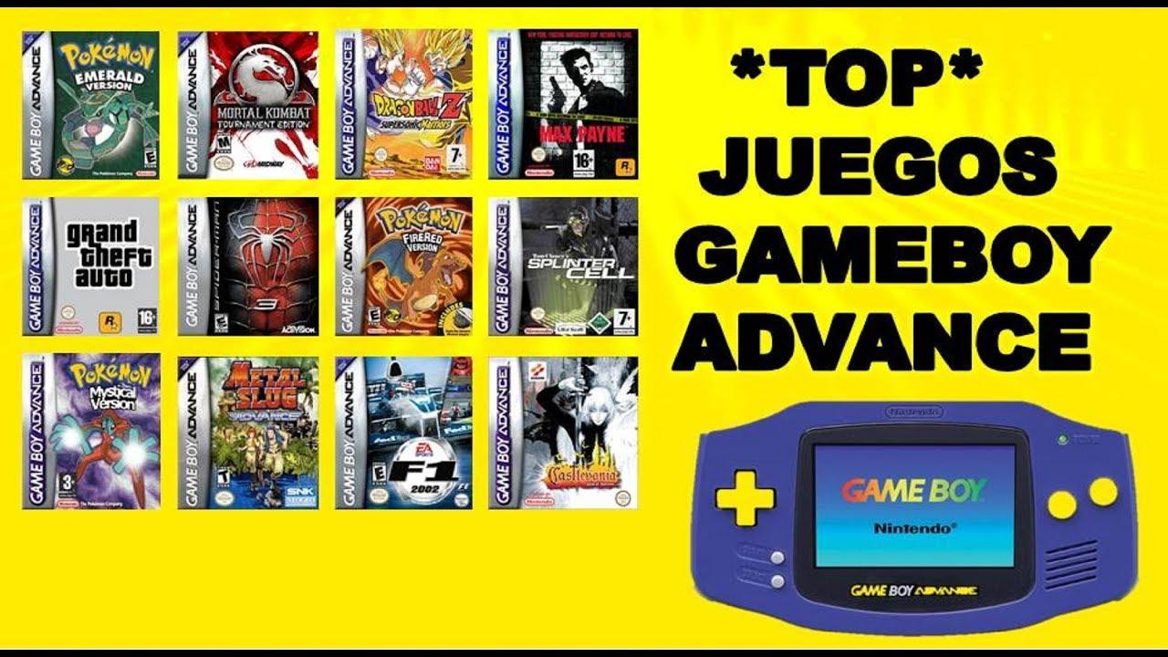 Top Juegos Gameboy Advance Emulador My Boy Full Youtube