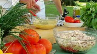 The Chef's Kitchen - Dinner Salads: Orzo & Turkey Salad