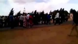 انتفاضة الصحراويين ضد المخابرات الجزائرية يوم 12 04 2015