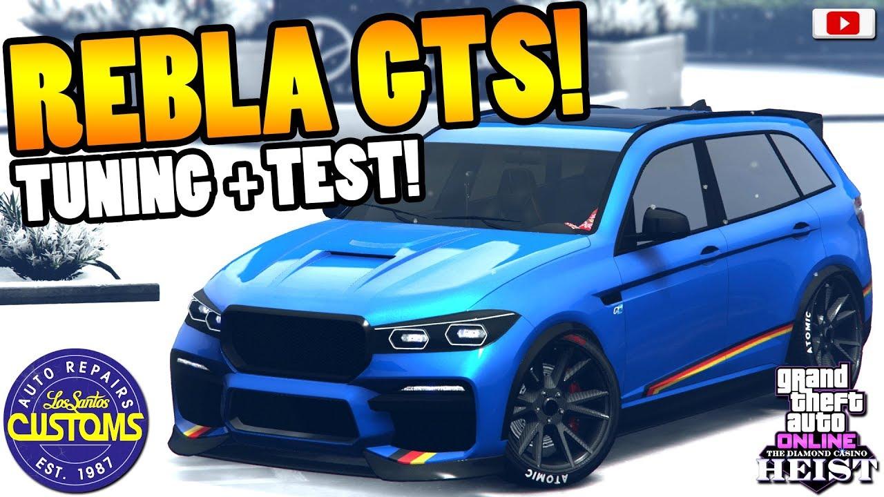 Bester Tuner Suv Rebla Gts Tuning Test Gta 5 Online