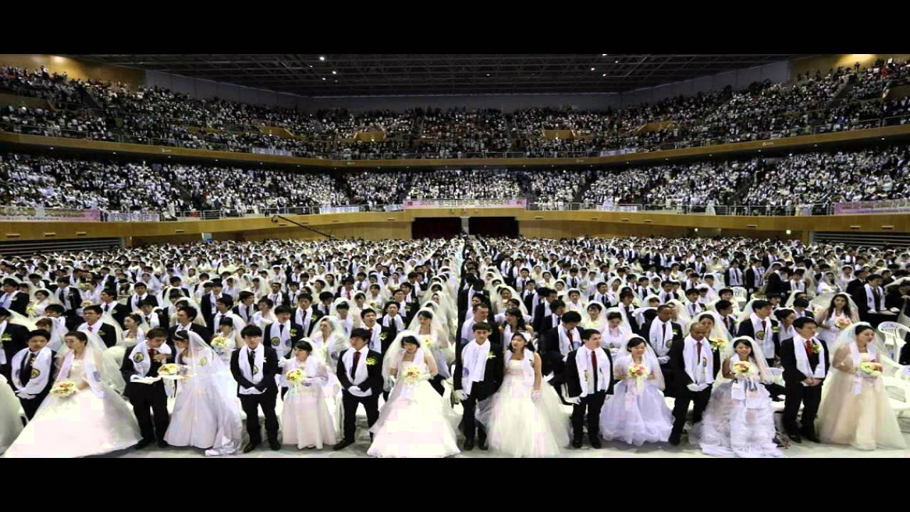 3,500 Moonies marry in first mass wedding since the death ...