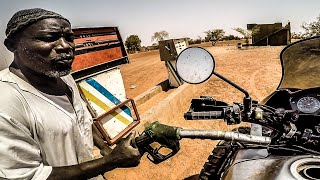 My neighbor SCORPION | Motorcycle world tour | Africa #19 [SUB]