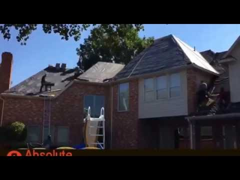 Absolute Construction Roofing Project
