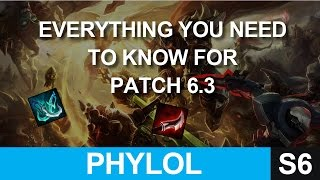 Everything you need to know about Patch 6.3 - Biggest Changes