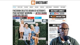 Facebook Deletes Disabled Vet's Page After Taking $300,000 From Him! (REACTION)