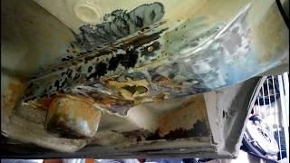 восстановление лонжеронов на Форд Скорпио своими руками часть4