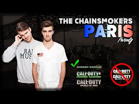 Call of Duty - The Chainsmokers 'Paris' | PARODY
