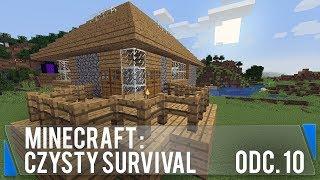 Okna i tarasy (Minecraft: Czysty survival #10)