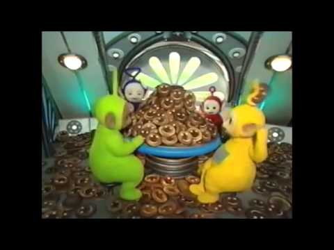 Teletubbies The Tubby Toast Accident with the Lion and Bear