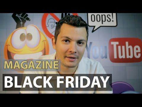 Lista cu magazinele de Black Friday in Romania: eMag, F64, Altex, Fashiondays.