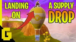 BEST WAY TO GRAB A SUPPLY DROP - Fortnite Funny & Epic moments #1