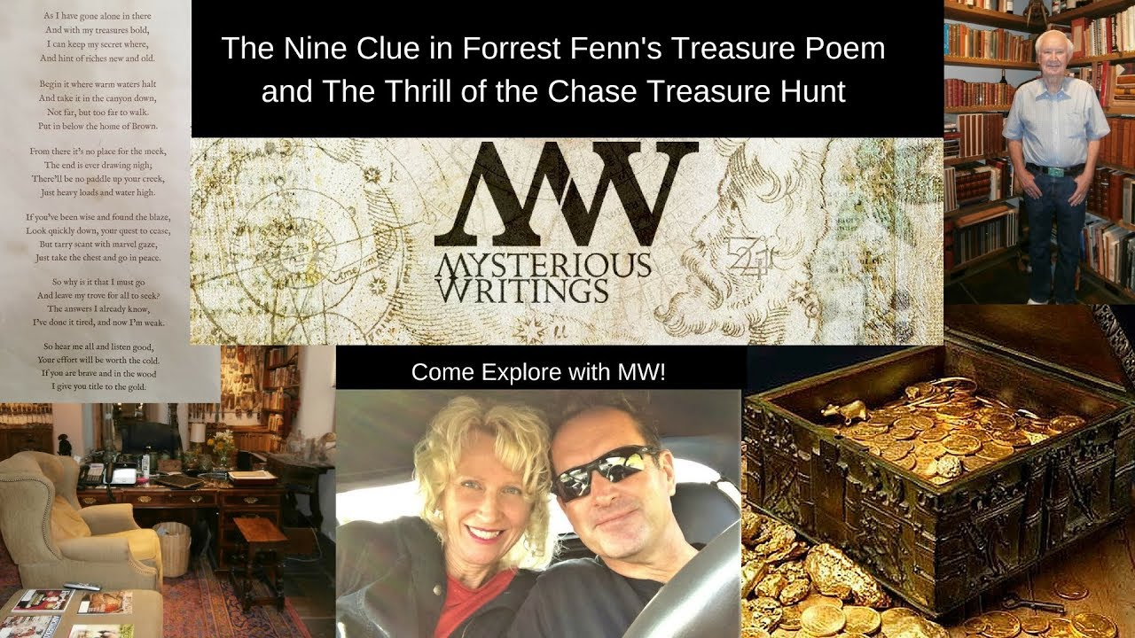 The Nine Clues in Forrest Fenns Treasure Poem and The Thrill of the Chase