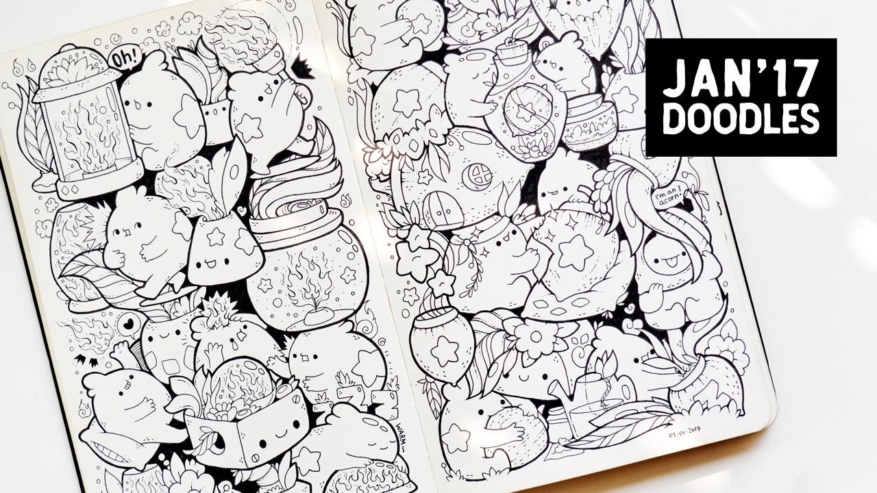 Cute/Kawaii Doodles