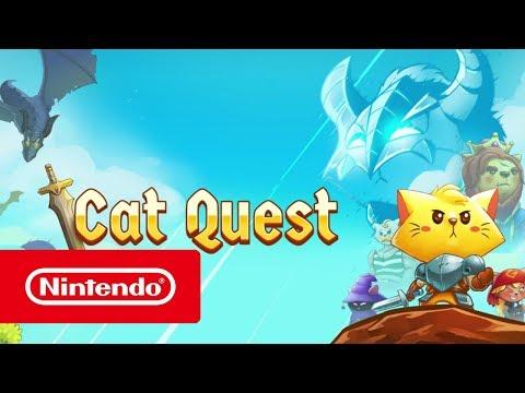 Cat Quest - Launch Trailer (Nintendo Switch)