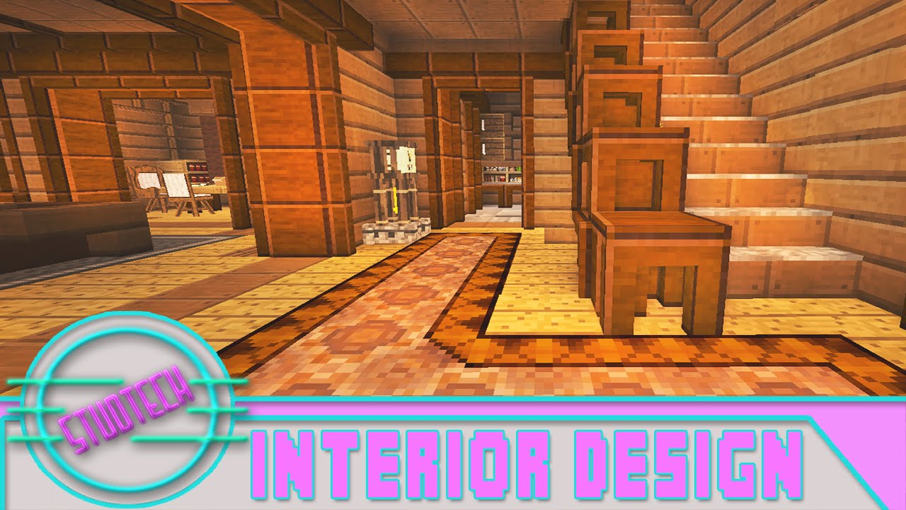 Modded Minecraft: Cool Interior House Designs (StudTech Ep ...