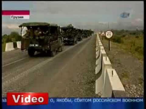 Gürcistan, Osetya'yi, Rusya Gürcistani Bombaliyor!!!