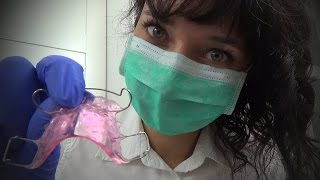ASMR Orthodontist Role Play in Polish l Fitting Your Retainer